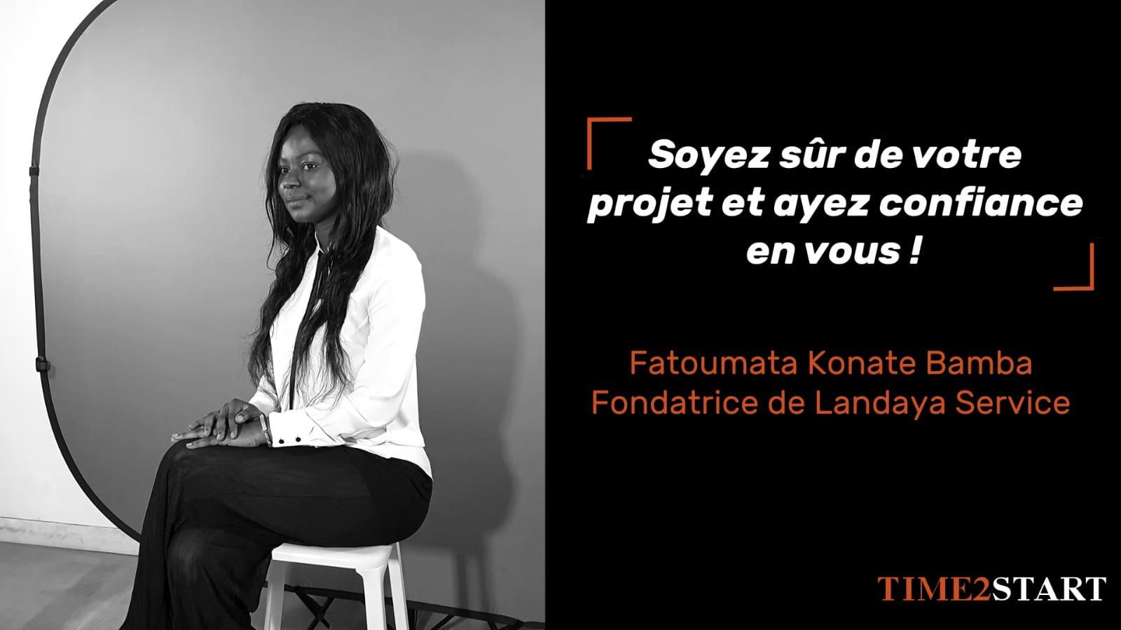 Portrait entrepreneur : Fatoumata Bamba Konate fondatrice de Landaya, service à la personne