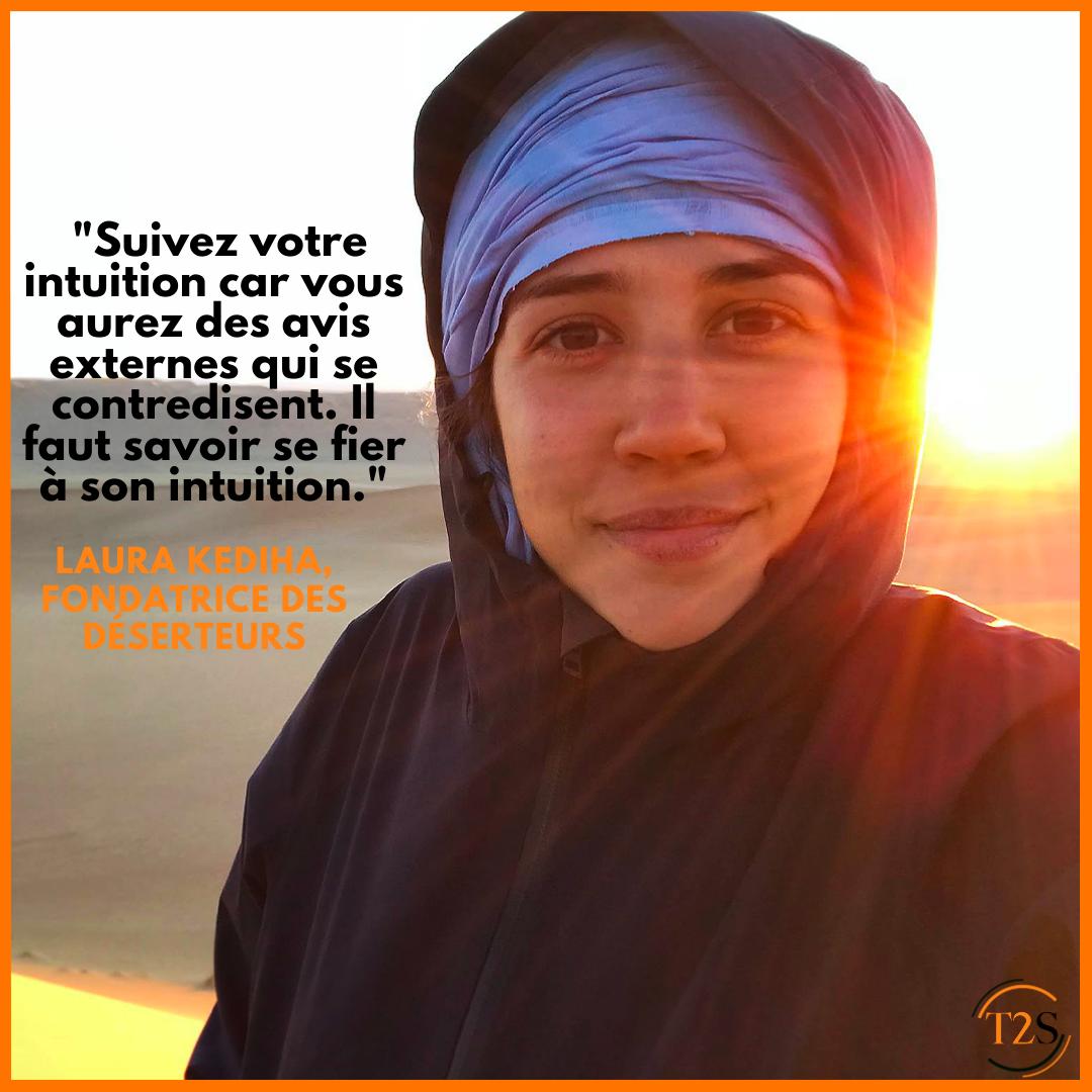Portrait entrepreneur : Laura Kediha, fondatrice des Déserteurs